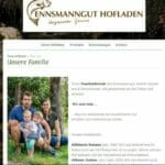 Ennsmanbauernhof - Familie Willberger