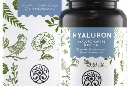 Hyaluron Kapseln gut für Gelenke und Haut