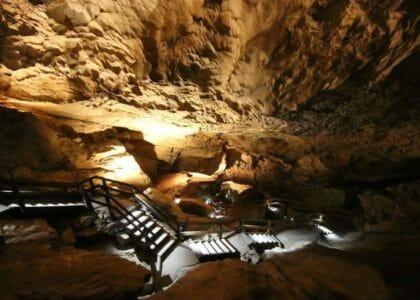 Die Lamprechtshöhle im Pinzgau