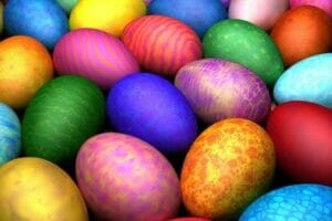 Ostereier färben und bemalen
